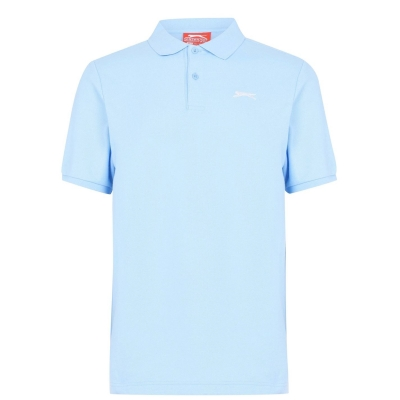 Tricouri polo simple Slazenger pentru Barbati deschis albastru