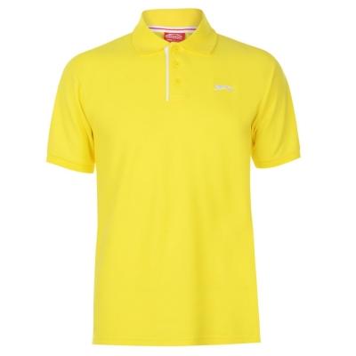 Tricouri polo simple Slazenger pentru Barbati galben
