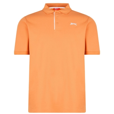 Tricouri polo simple Slazenger pentru Barbati portocaliu
