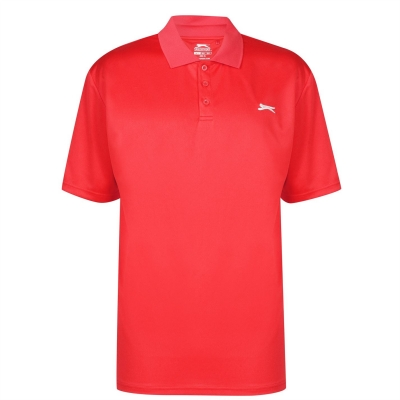 Tricouri Polo Slazenger Golf Solid pentru Barbati rosu