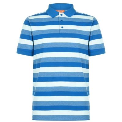 Tricouri Polo Slazenger Pique pentru Barbati bleu