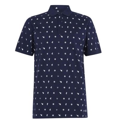 Tricouri Polo SoulCal AOP pentru Barbati bleumarin