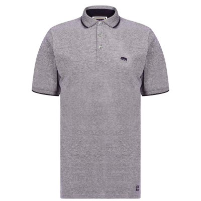 Tricouri Polo SoulCal Pique pentru Barbati bleumarin alb