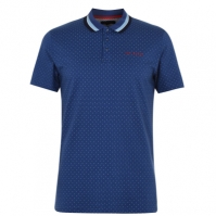 Tricouri Polo Ted Baker Kabby Golf inchis albastru
