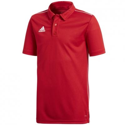 Tricou poloadidas Core 18 rosu CV3681 copii adidas teamwear