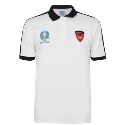 Tricouri Polo UEFA Euro 2020 Germania pentru Barbati alb