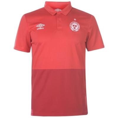 Tricouri Polo Umbro Shelbourne pentru Barbati vermillion rosu
