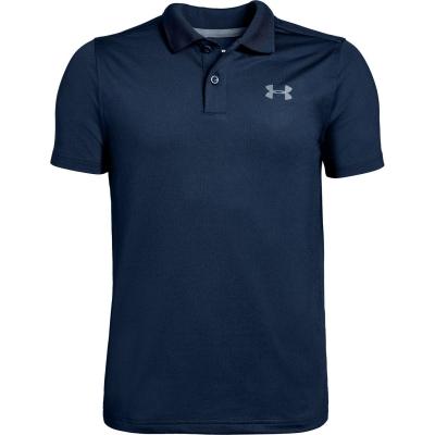 Tricouri Polo Under Armour Performance Golf pentru baietei albastru