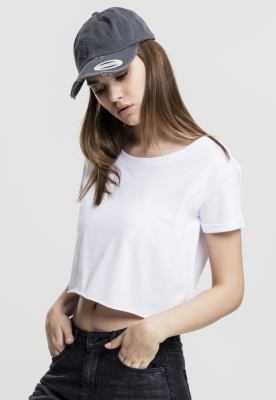 Tricouri scurte femei urban alb Urban Classics