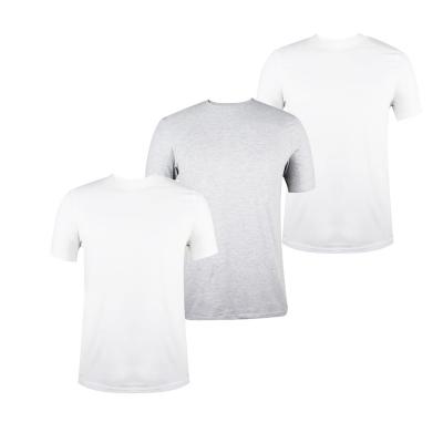 Tricouri Set de 3 Donnay pentru Barbati alb gri