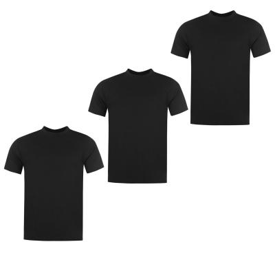 Tricouri Set de 3 Donnay pentru Barbati negru