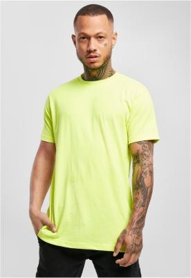 Tricouri simple galben-neon Urban Classics