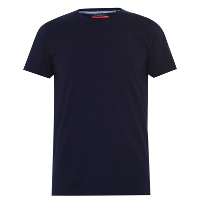 Tricouri simple sport Pierre Cardin pentru Barbati bleumarin