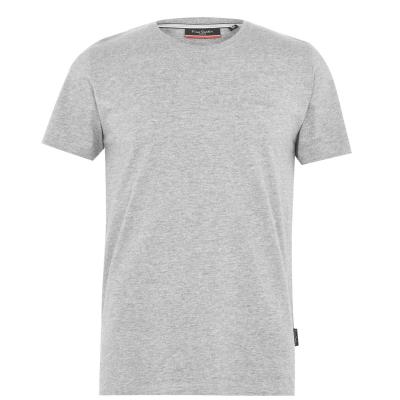 Tricouri simple sport Pierre Cardin pentru Barbati gri