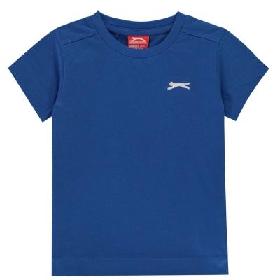 Tricouri simple sport Slazenger baietei albastru