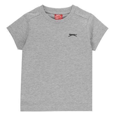 Tricouri simple sport Slazenger baietei gri