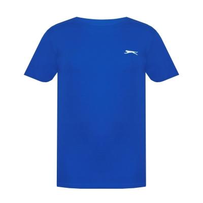 Tricouri simple sport Slazenger pentru baietei albastru roial