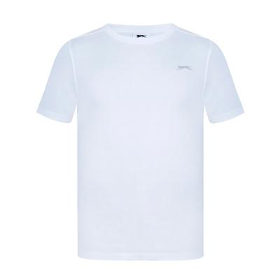 Tricouri simple sport Slazenger pentru Barbati alb