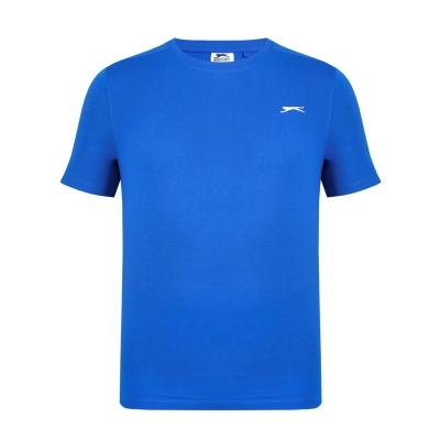 Tricouri simple sport Slazenger pentru Barbati albastru roial