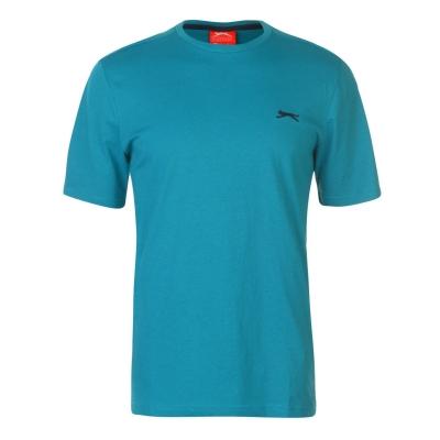 Tricouri simple sport Slazenger pentru Barbati bleu albastru