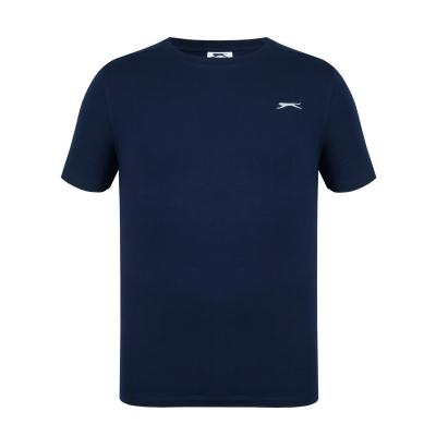 Tricouri simple sport Slazenger pentru Barbati bleumarin
