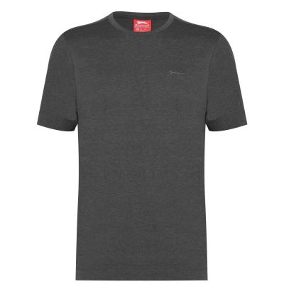 Tricouri simple sport Slazenger pentru Barbati gri carbune
