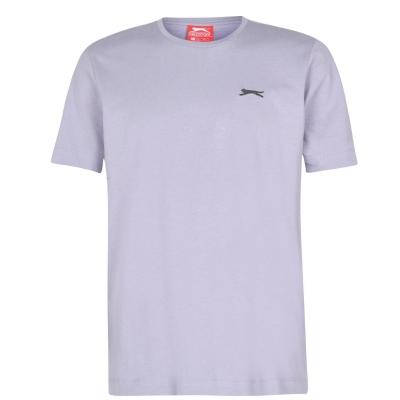 Tricouri simple sport Slazenger pentru Barbati lila gri