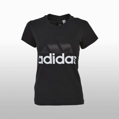 Tricou negru bumbac adidas Ess Li Sli B45786 Femei