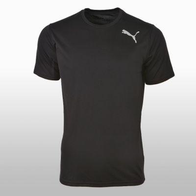 Tricou sport negru  maneca scurta Essential Ss Tee Puma Barbati