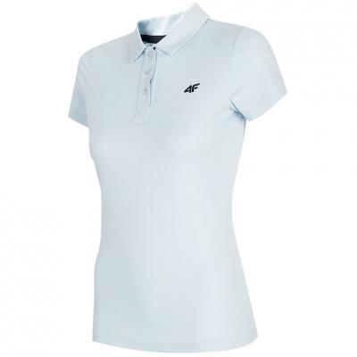 Tricouri sport Functional 4F albastru deschis H4L21 TSDF080 34S pentru Femei
