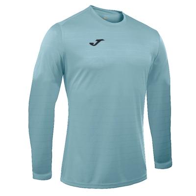 Tricouri sport Joma Campus Sky albastru cu maneca lunga deschis