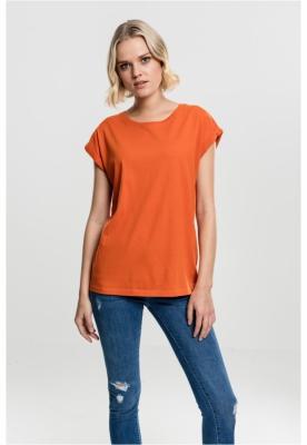 Tricouri sport largi femei portocaliu-portocaliu Urban Classics