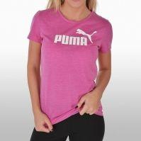 Tricou sport roz Puma Ess No.1 Tee Heather Femei