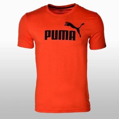 Tricou sport portocaliu Puma Ess No.1 Barbati