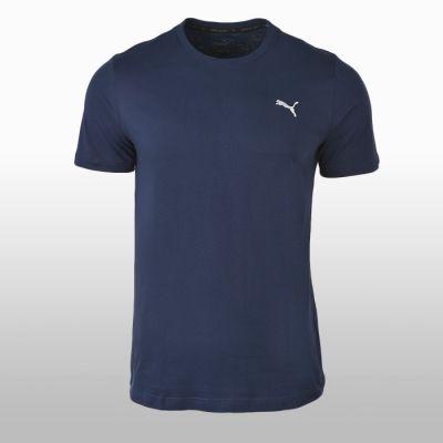 Tricou bumbac sport albastru Puma Ess Tee Barbati