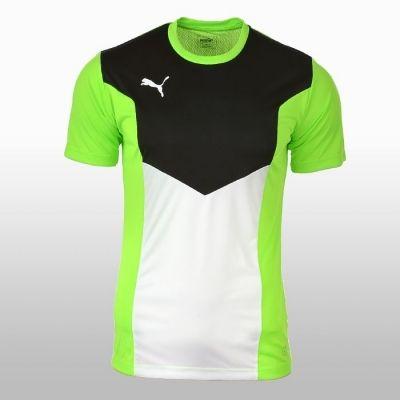 Tricou sport verde cu negru Puma Ftbltrg Shirt Barbati