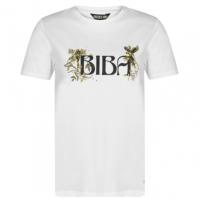 Tricouri sport Tricou cu logo Biba Parrot - alb