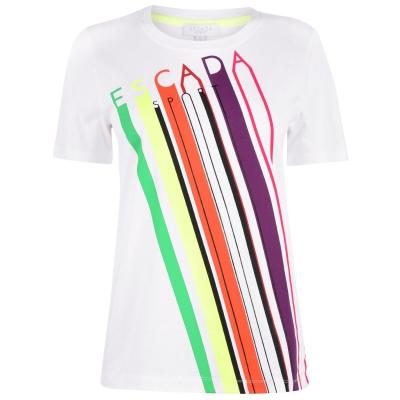 Tricouri sport Tricou cu logo Escada Multicolour -