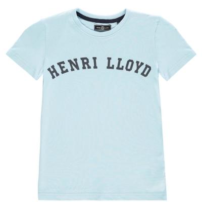 Tricouri sport Tricou cu logo Henri Lloyd - albastru deschis