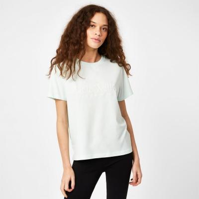 Tricouri sport Tricou cu logo Jack Wills Forstal Boyfriend - menta