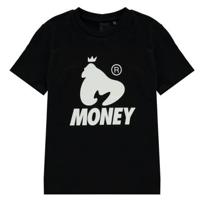 Tricouri sport Tricou cu logo Money - negru