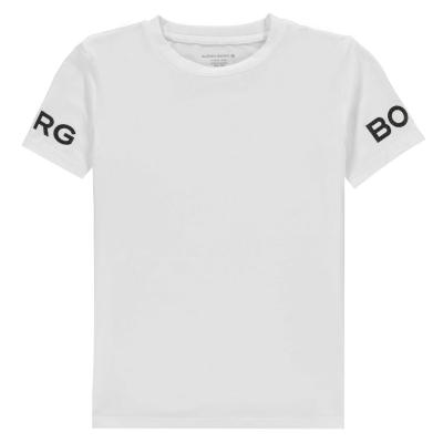 Tricouri sport Tricou imprimat Bjorn Borg - alb