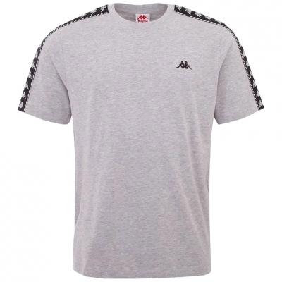 Tricouri sport Tricou Kappa ILYAS gri 309001 15-4101M pentru Barbati