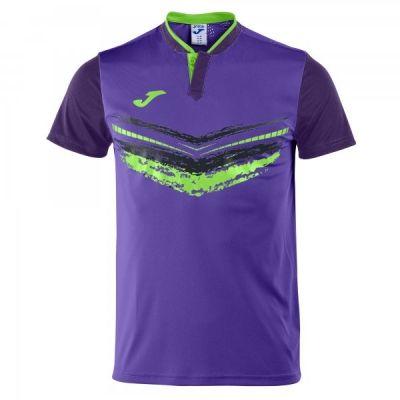 Tricouri tenis Joma Terra II Purple cu maneca scurta mov