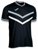 Tricouri tenis Joma Terra negru-alb cu maneca scurta
