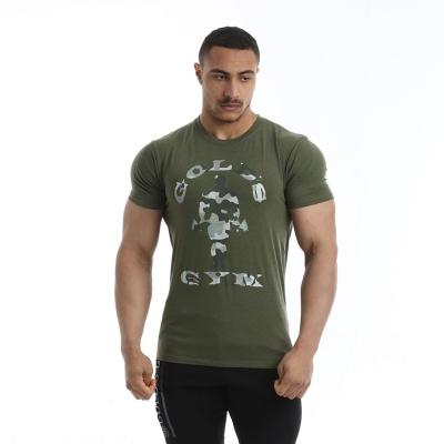 Tricouri cu imprimeu Golds sala pentru Barbati military gri
