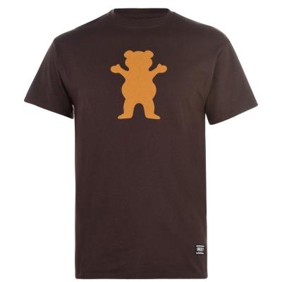 Tricouri cu imprimeu Grizzly pentru Barbati og urs