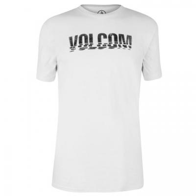 Tricouri Tricou cu imprimeu Volcom Volcom - pentru Barbati alb edge