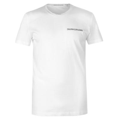 Tricouri Tricou cu logo Calvin Klein Jeans - bright alb