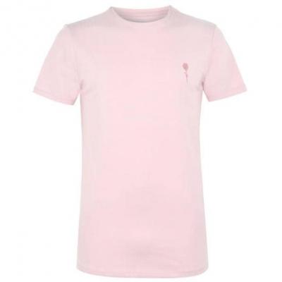 Tricouri Tricou cu logo Rose London Small - roz